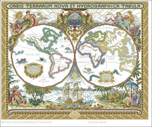 Olde World Map