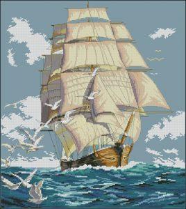 Cliper Ship Voyage