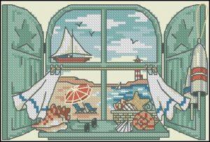 Seaside Window