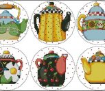 Teapot Coasters