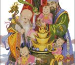 Chinese Blessing Gods