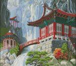 Водопад и пагода