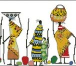 Этно вышивка африканские мотивы