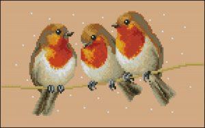 Три птички-синички