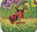 Pillow whith  ladybird for children
