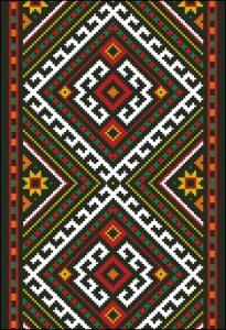 Западная вышивка