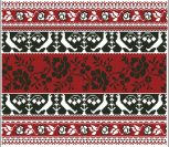 Белорусский национальный орнамент вышивки