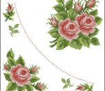 Розы салфетка Riko