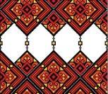 Кубанский геометрический орнамент