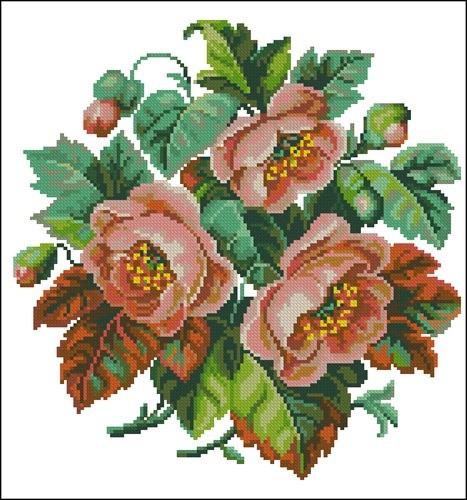 """Рушник """"Букет троянд"""""""