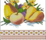 Полотенце с фруктами