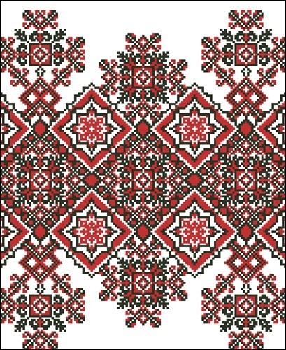 Орнамент полтавської вишивки