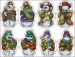Снеговики (игрушка)