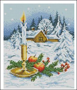 Різдвяна композиція