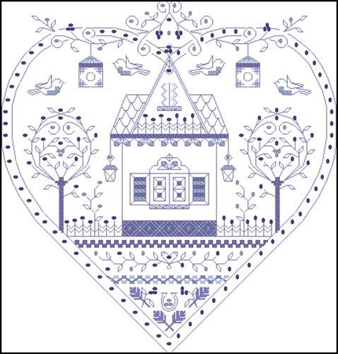 Сердце-оберег «Родной дом»