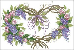 Rosebud Wreath