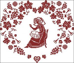 Сердце белошвейки
