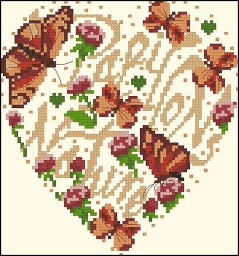 SFV coeur papillons nature