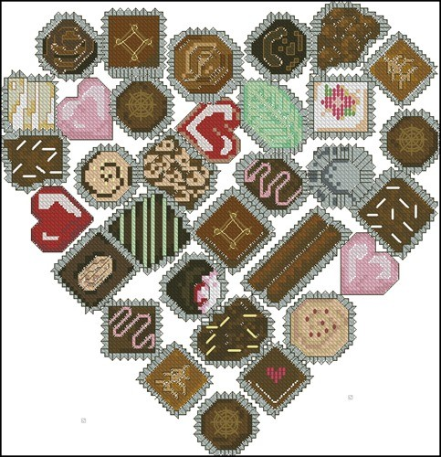 Candy heart and button covers