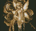 Эльф на розах