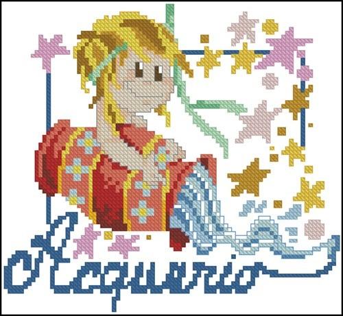 Kids Zodiak Acquario
