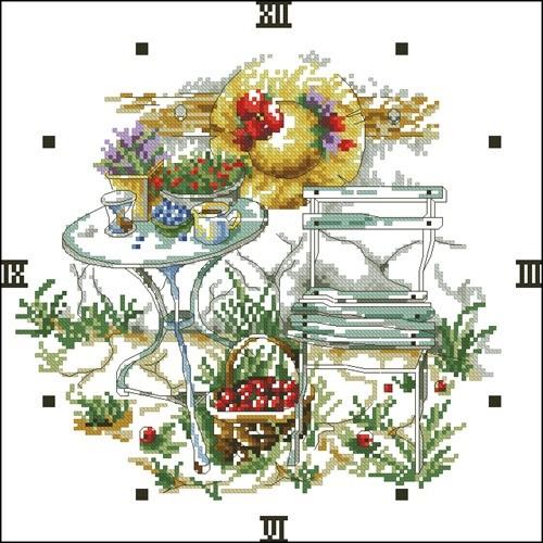 Clock GARDEN 2