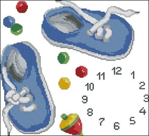 Reloj zapatillas
