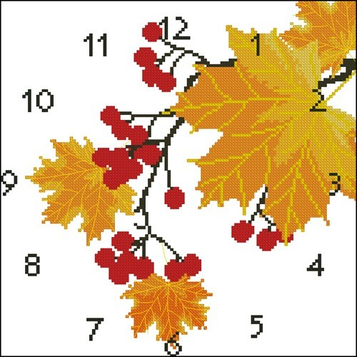 """Часы """"Осенние"""""""