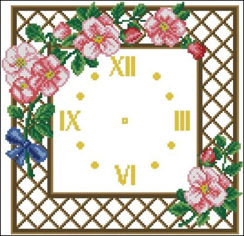 Clock Apple Blossom