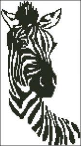 Zebra Silouette