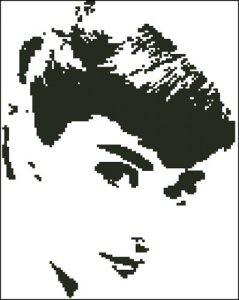 Портрет Одри Хепберн