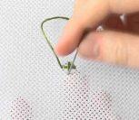 ВИДЕО: Итальянский крест, вышивка крестом
