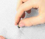 ВИДЕО: Как вышивать крестиком. Рисовый шов