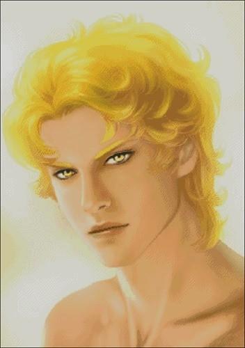 Парень с золотыми волосами