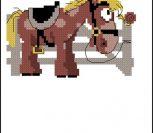 Мультяшная лошадка