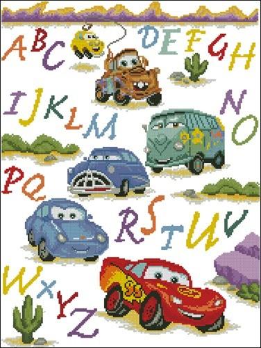 Алфавит и тачки