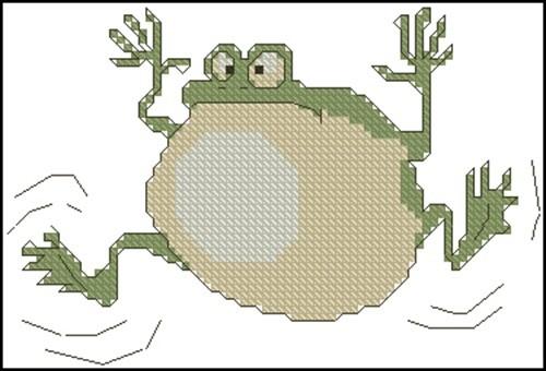 Gonfled Frog