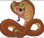 Мультяшная кобра