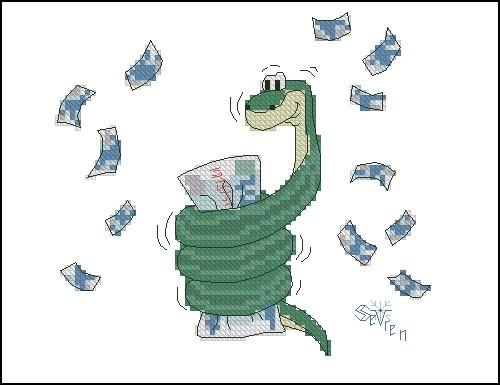 Денежная змейка