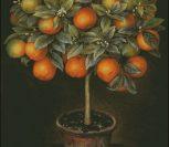 """Панно """"Апельсиновое дерево"""""""