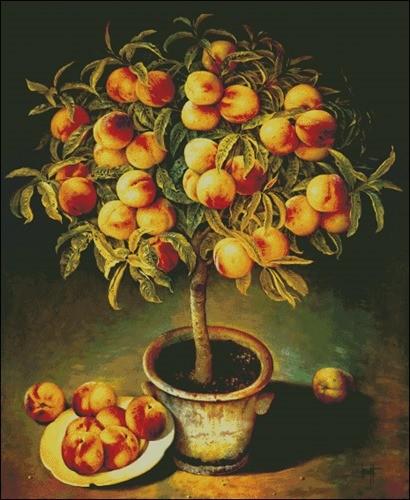 Панно «Персиковое дерево»