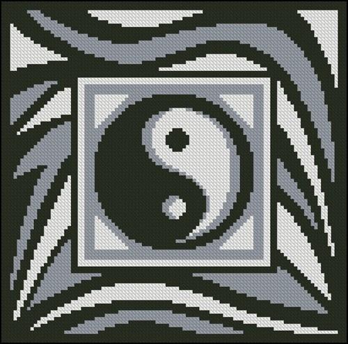 Подушка «Инь-Янь»