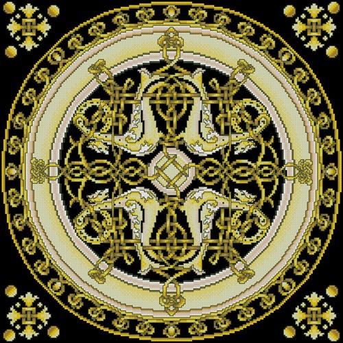 Подушка «Славянское золото»