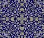 Quaker Floral Puzzle