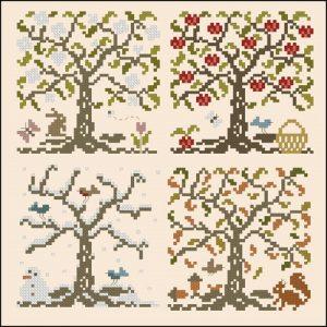 Деревья, времена года