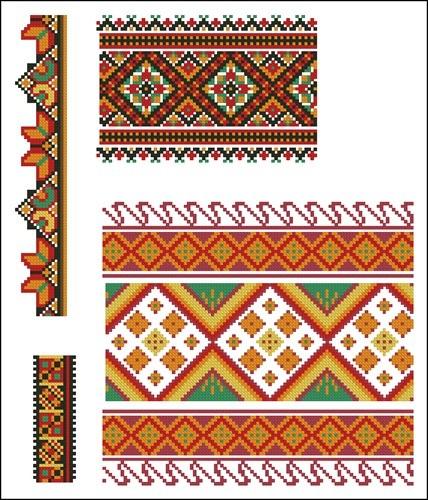 Украинские орнаменты  96