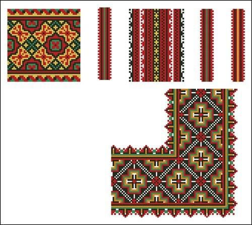 Украинские орнаменты 98