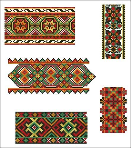 Украинские орнаменты 100