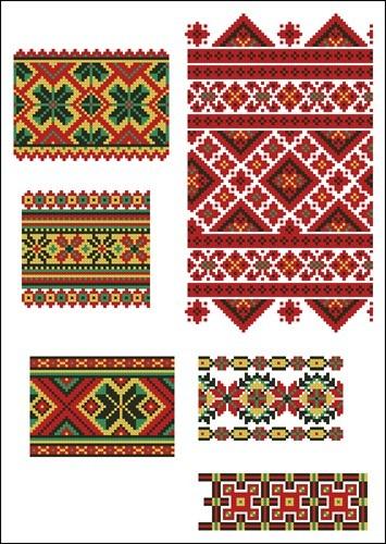 Украинские орнаменты 102