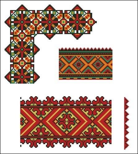 Украинские орнаменты 103